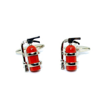 Fire Extinguisher Cufflinks-cufflinks-Society Gent