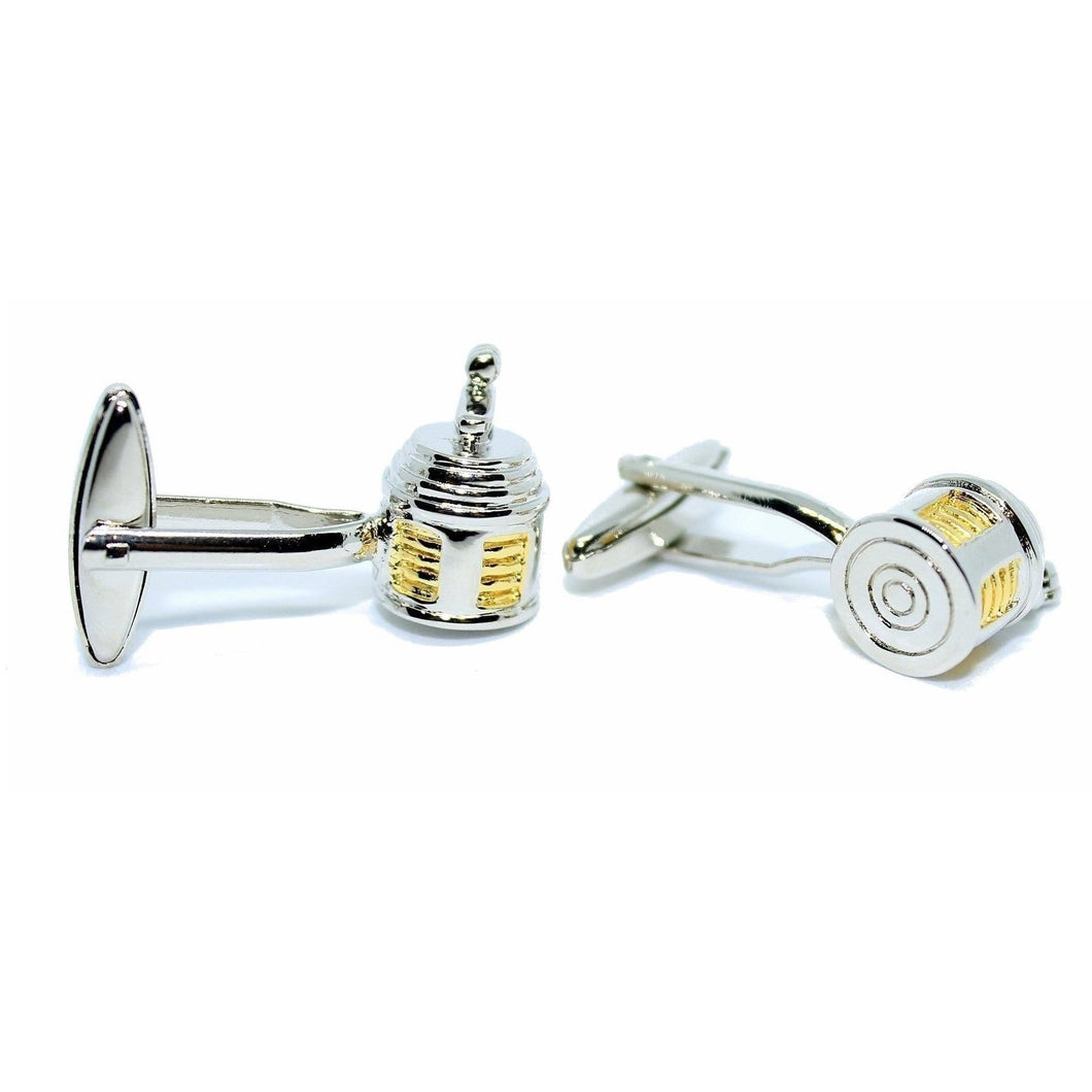 Fishing Reel Cufflinks-cufflinks-Society Gent