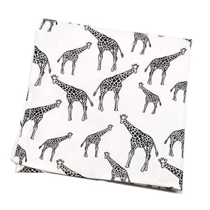 Giraffe Pocket Square-pocket square-Society Gent