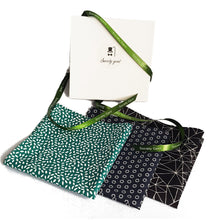 "Green and White ""Rice"" Pocket Square-pocket square-Society Gent"