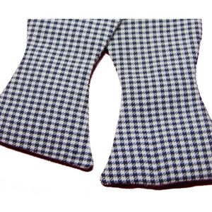 Houndstooth Self-Tie Bow Tie-bow ties-Society Gent