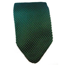 Knitted Green Skinny Tie-ties-Society Gent