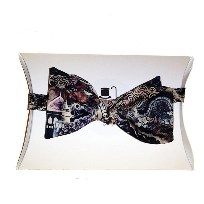 Liberty of London Atlas Self Tie Bow Tie-bow ties-Society Gent