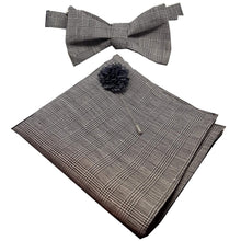 Prince of Wales Check Pocket Square-pocket square-Society Gent