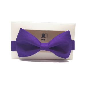 Purple Pre-Tied Bow Tie-Society Gent-Society Gent