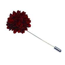 Red Flower Lapel Pin-lapel pins-Society Gent