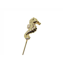 Sea Horse Lapel Pin-lapel pins-Society Gent
