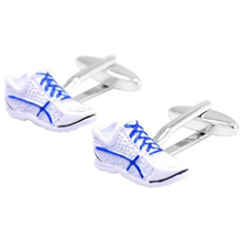 Sports Trainers Cufflinks-cufflinks-Society Gent