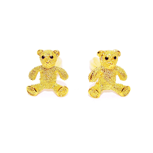 Teddy Bear Cufflinks-cufflinks-Society Gent
