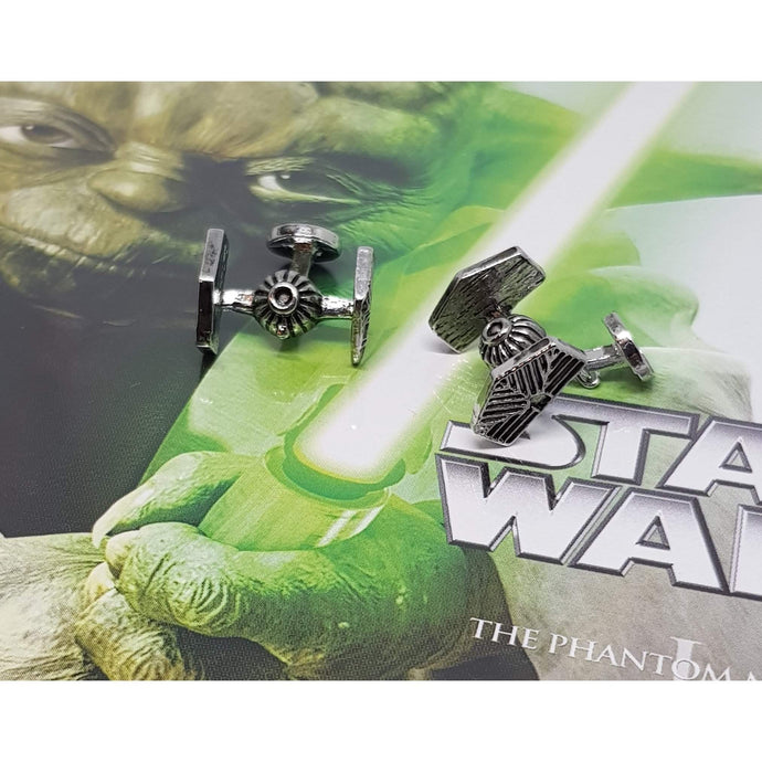 Tie Fighter -Star Wars Cufflinks-cufflinks-Society Gent