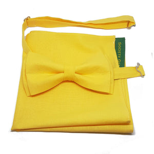 Yellow Pocket Square-pocket square-Society Gent