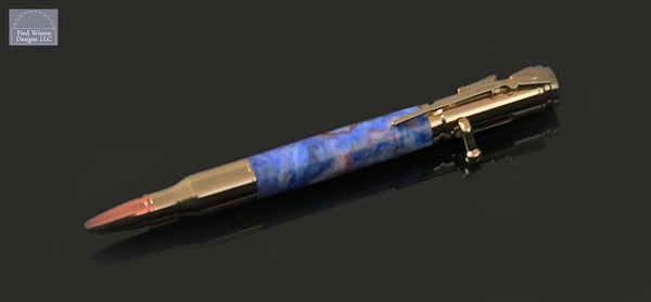 Cartridge Series Bolt Action Patriotic TruStone Ballpoint Pen