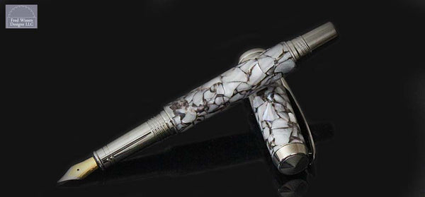 Commander Series Italian Crushed Resin Fountain Pen