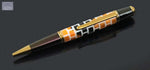 Sergeant Series CNC Custom Engraved Brick Pattern Ballpoint Pen