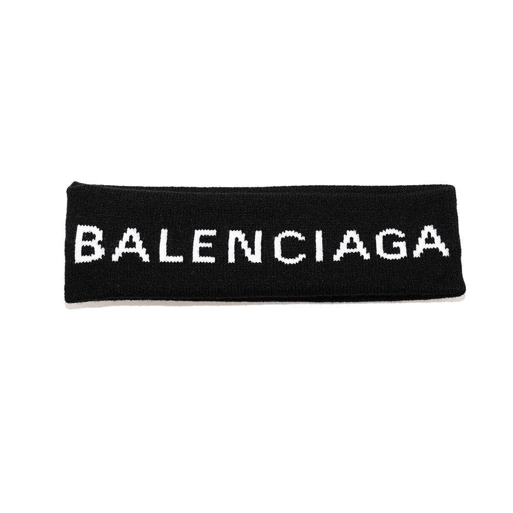 Balenciaga Headband Black