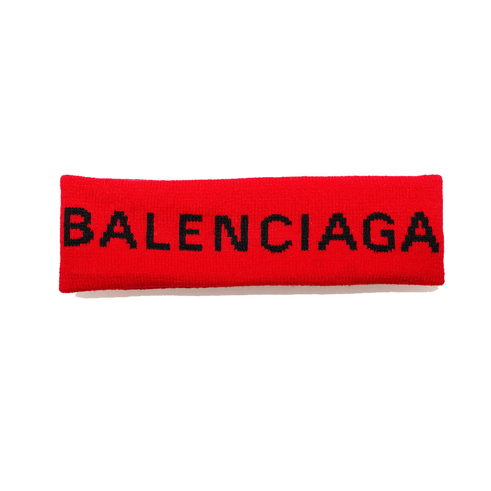 Balenciaga Headband Red