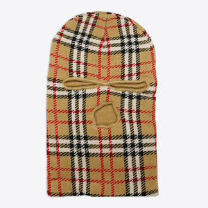 Burberry Check Plaid Ski Mask