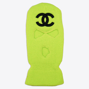 CC Ski Mask Slime Green