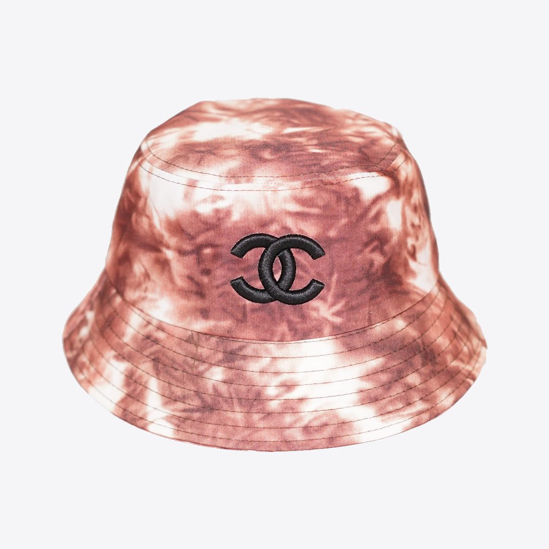CC Tie Dye Bucket Hat Brown