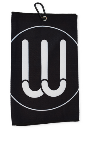 The W Towel - Black
