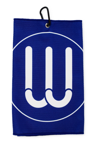 The W Towel - Navy