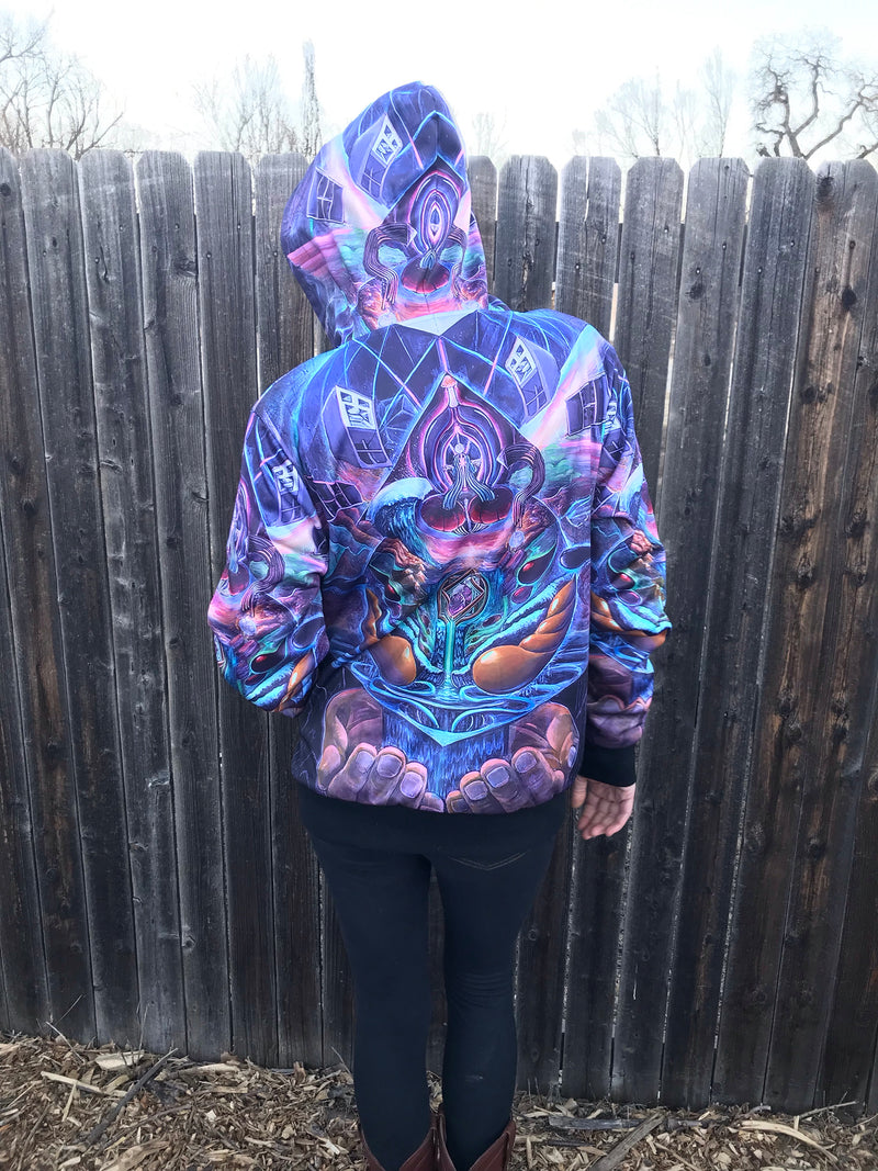 Alchemical Opus Zip Up Hoodie