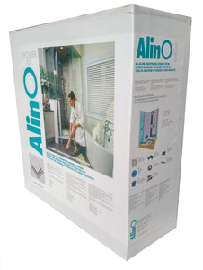 Alin-O Linear Shower Kit  |  Bright Clear