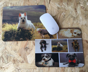 Personalised custom mouse pad, 3mm thick, any logo/photo/text