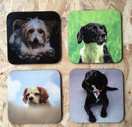Personalised custom coasters