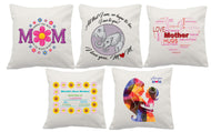 Superior linen custom cushion covers, gift for mum
