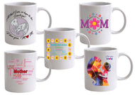 Mother's Day custom mugs, printed on both sides