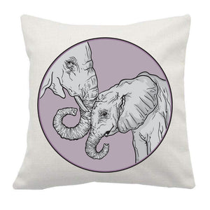 Unique designs linen cushion covers