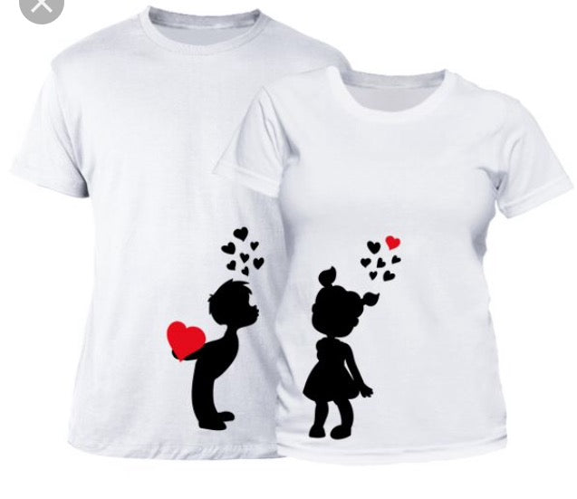 Very cute couple matching T-Shirts