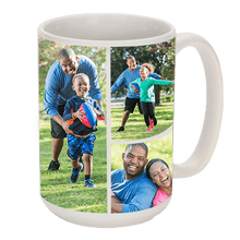 Personalised photo collage mugs