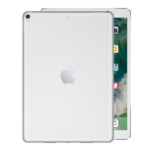 Textured carbon skin cover for iPad