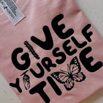 Give yourself time- kids