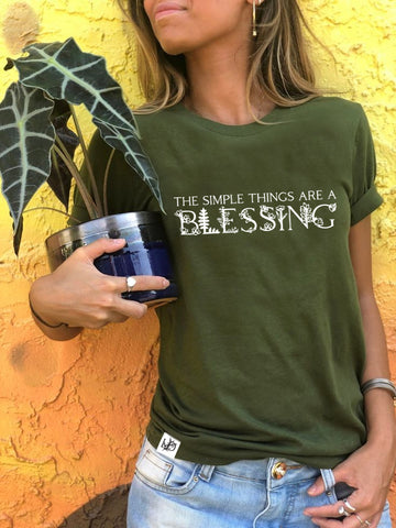 Simple things are a blessing - Women's