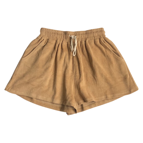 Adult Pecan Terry Shorts