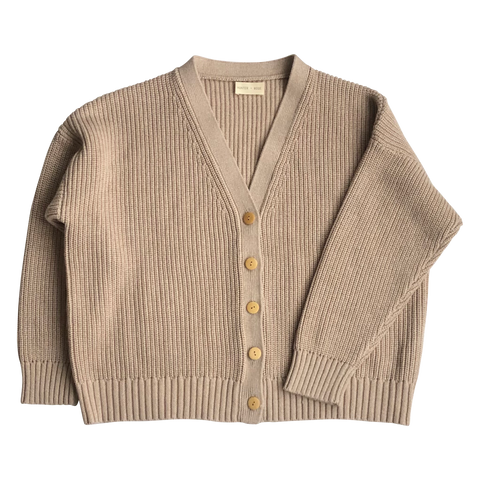Adult Marl Wheat Cardigan