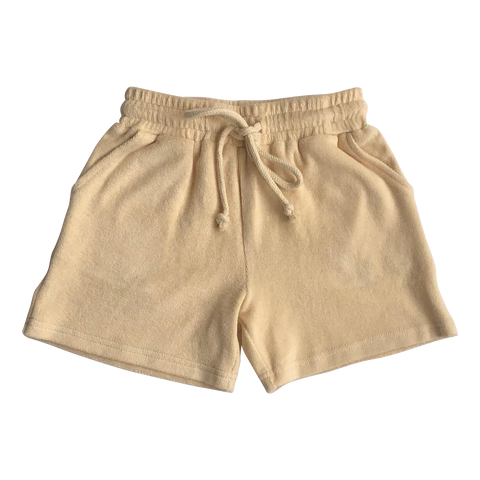 Almond Terry Shorts