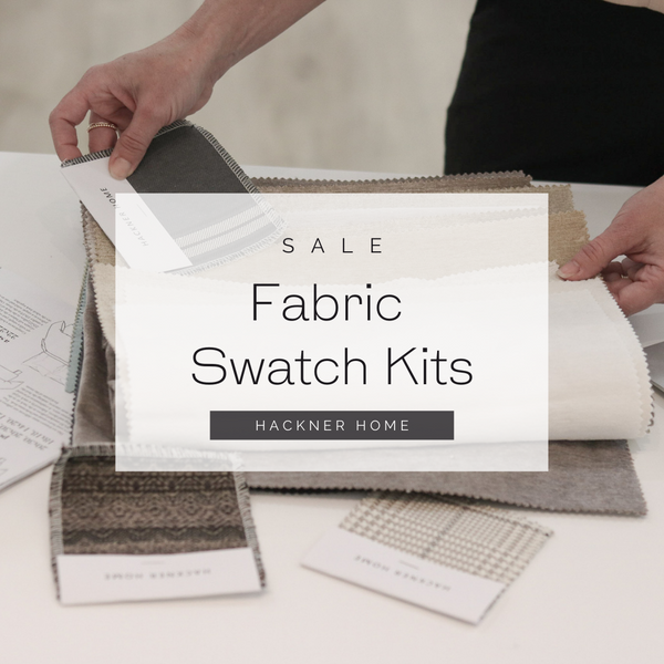 Fabric Samples, Fabric Swatches, Designer Fabric Swatch kits, Hackner Home