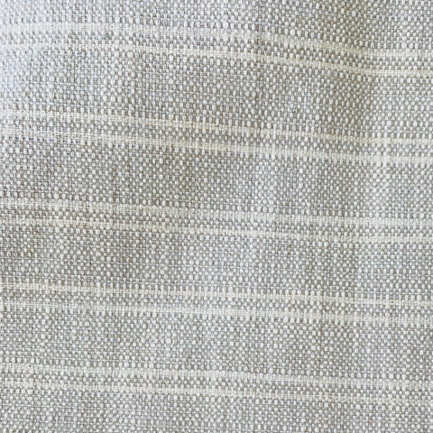 Textured Gray Fabric, Gray Fabric by the Yard, Woven Gray Upholstery Fabric, Striped Grey Upholstery Fabric