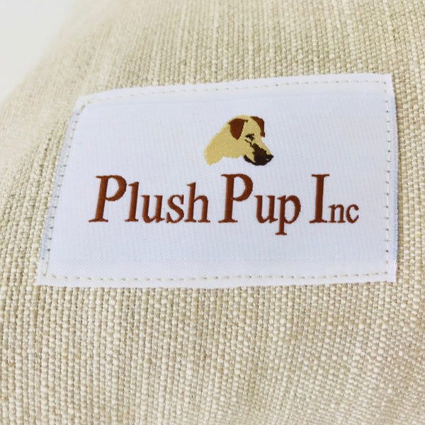 Burlap Dog Bed Cover