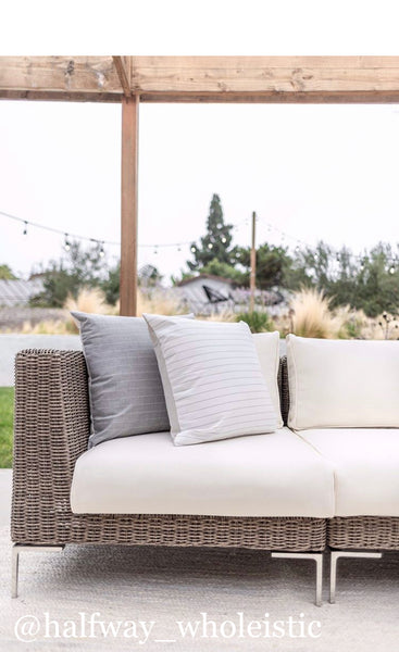 White - Outdoor Pillow Cover