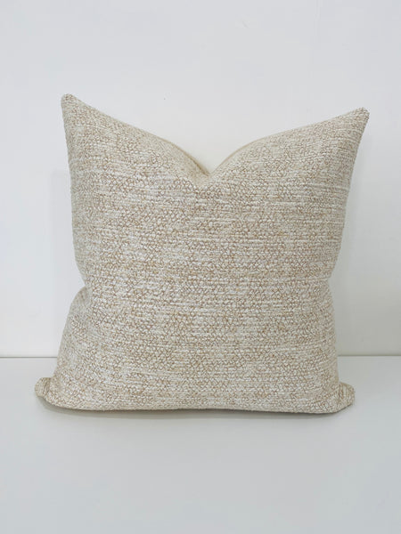 Textured Neutral Pillow, Creamy pillows, Textured Pillows, Decorative Pillows, Designer Pillows, Hackner Home, Boho Pillows, Boho Farmhouse style, Coastal Pillows, Neutral Pillows