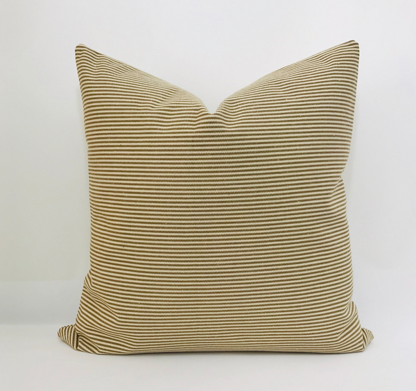 Brown Pillow Cover, Striped Pillow Cover, Vintage style pillows, Designer Pillow Covers, Decorative Pillows, Pillow Shop, Handmade Pillows, Hackner Home, Pillows, Pillow Covers, Pillow Shams, Home Decor