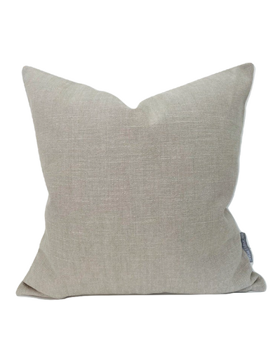 Woven Greige Pillow Cover