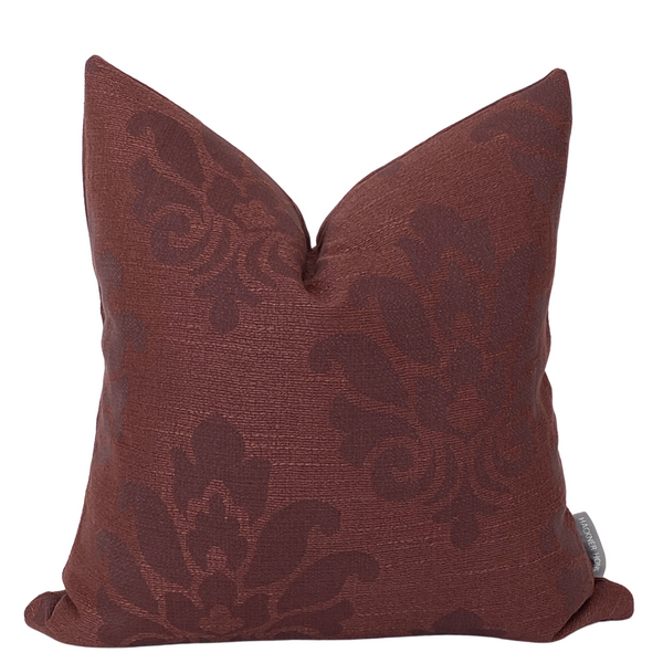 Burgundy Pillow Cover, Maroon Pillows, Brandy Wine Color, Hackner Home, Decorative Pillow Covers, Designer Pillows, Up Scale Pillows, High End Pillows, Christmas Pillows, Living Room Pillows, Bedroom Pillows, Floral Pillows, Cushion Covers, Cushions