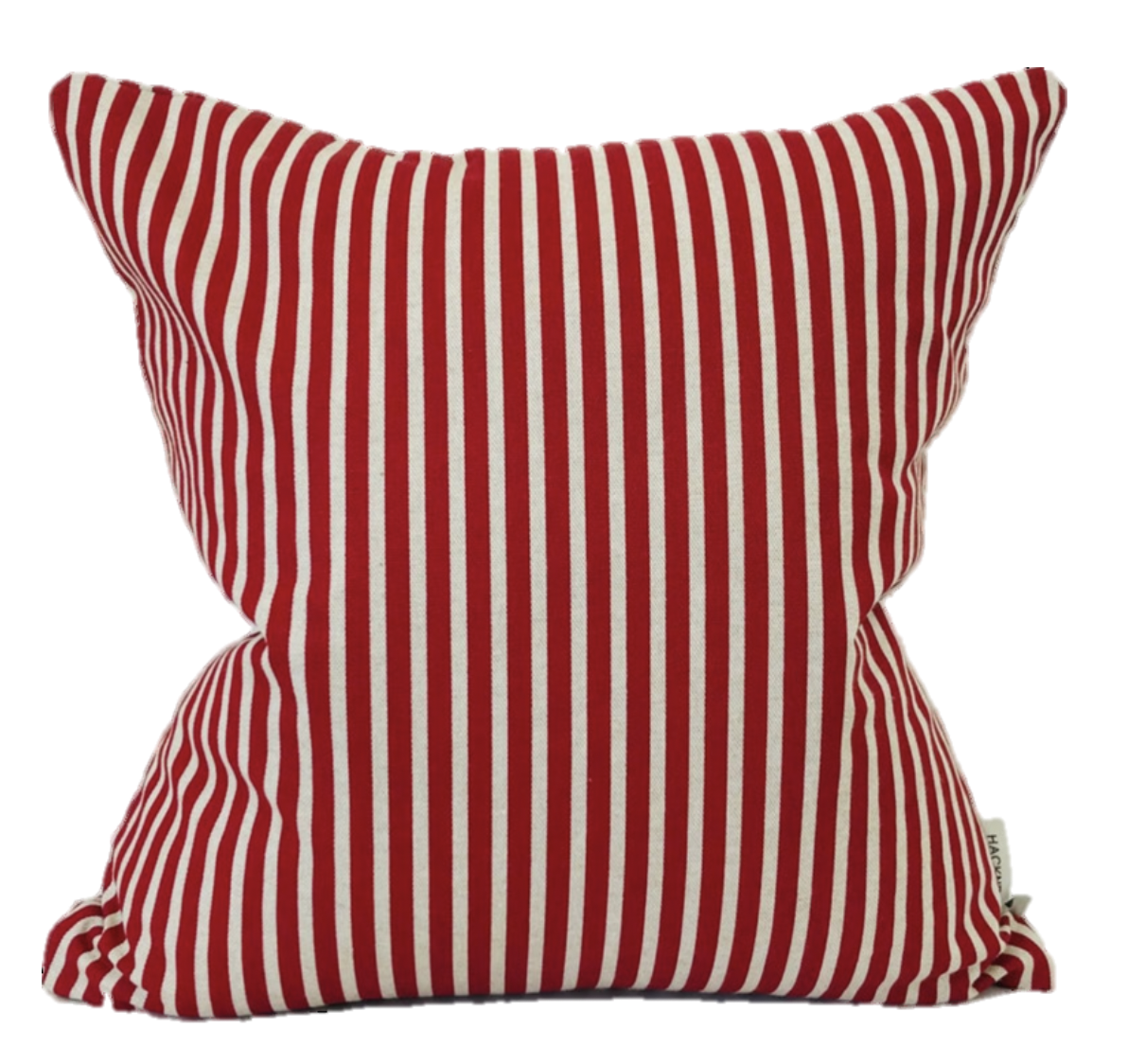 Red Striped Pillow Cover, Red Pillow, Red Decorative Pillow, Red Christmas Pillow, Striped Pillows, Red Through Pillows, Hackner Home, Designer Pillows, Christmas Decor
