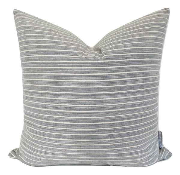 Stormy Pillow Cover - Gray Blue